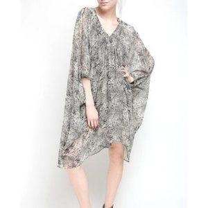Walter Baker Kimono MARION Snake Print DRESS